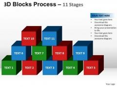PowerPoint Presentation Designs Download Blocks Process Ppt Design