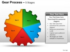 PowerPoint Presentation Designs Download Gears Process Ppt Design