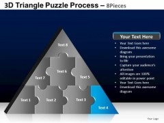 PowerPoint Presentation Designs Editable Triangle Puzzle Ppt Layouts