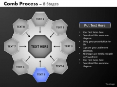 PowerPoint Presentation Designs Hub And Spokes Process Ppt Design Slides