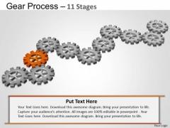 PowerPoint Presentation Designs Leadership Gears Process Ppt Design