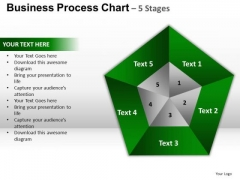 PowerPoint Presentation Designs Leadership Pentagon Pie Chart Ppt Design