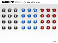 PowerPoint Presentation Designs Marketing Buttons Icons Ppt Designs
