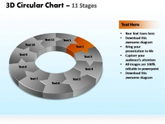 PowerPoint Presentation Designs Process Circular Ppt Themes