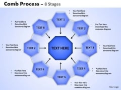 PowerPoint Presentation Designs Process Wheel And Spoke Process Ppt Slides