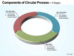 PowerPoint Presentation Designs Sales Components Of Circular Ppt Slide