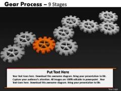 PowerPoint Presentation Designs Sales Gears Process Ppt Templates