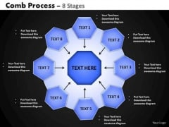 PowerPoint Presentation Designs Strategy Hub And Spokes Process Ppt Slides