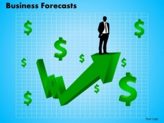 PowerPoint Presentation Diagram Business Forecast Ppt Theme
