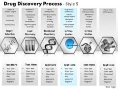 PowerPoint Presentation Diagram Drug Discovery Ppt Design