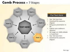 PowerPoint Presentation Diagram Wheel And Spoke Process Ppt Slide Designs