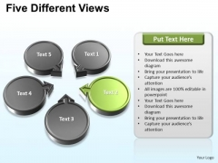 PowerPoint Presentation Download Five Different Ppt Backgrounds
