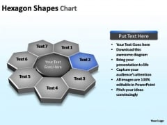 PowerPoint Presentation Download Hexagon Shapes Ppt Template