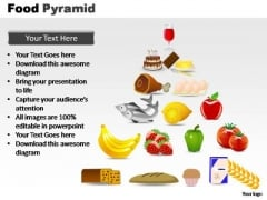 PowerPoint Presentation Editable Food Pyramid Ppt Process