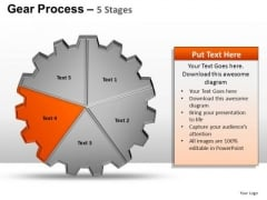 PowerPoint Presentation Editable Gears Process Ppt Process