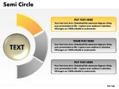 PowerPoint Presentation Education Semi Circle Chart Ppt Theme