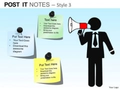 PowerPoint Presentation Executive Strategy Post It Notes Ppt Slidelayout