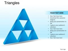 PowerPoint Presentation Executive Strategy Triangles Ppt Design Slides