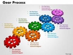 PowerPoint Presentation Gears Process Business Ppt Designs