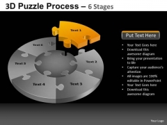 PowerPoint Presentation Global Pie Chart Puzzle Process Ppt Backgrounds
