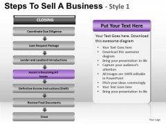 PowerPoint Presentation Global Steps To Sell Ppt Slide