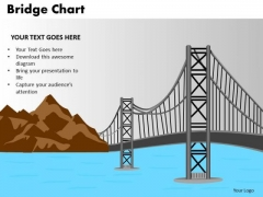 PowerPoint Presentation Graphic Bridge Chart Ppt Template