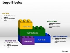 PowerPoint Presentation Graphic Lego Ppt Theme