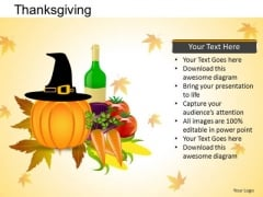 PowerPoint Presentation Happy Thanksgiving Ppt Backgrounds