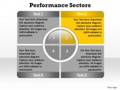PowerPoint Presentation Leadership Performance Sectors Ppt Template