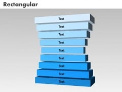 PowerPoint Presentation List Rectangular Diagram Ppt Template