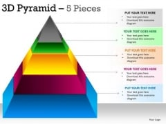 powerpoint templates corporate hierarchy pyramid ppt slide layout, Modern powerpoint