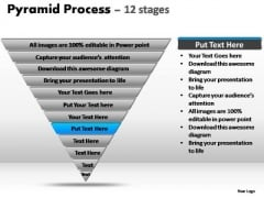 PowerPoint Presentation Marketing Pyramid Process Ppt Theme