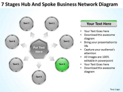 PowerPoint Presentation Network Diagram Ppt 4 90 Day Business Plan Examples Templates