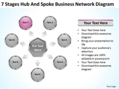 PowerPoint Presentation Network Diagram Ppt 8 Free Business Plans Templates