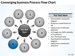 PowerPoint Presentation Process Flow Chart Circular Templates