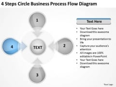 PowerPoint Presentation Process Flow Diagram Ppt 5 Tutoring Business Plan Templates