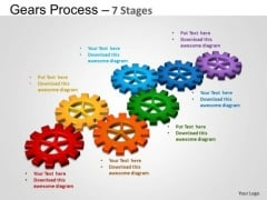 PowerPoint Presentation Process Gears Process Ppt Backgrounds