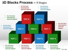 PowerPoint Presentation Sales Blocks Process Ppt Backgrounds