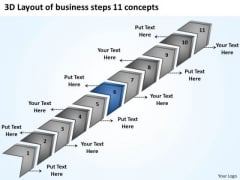 PowerPoint Presentation Steps 11 Concepts Sample Of Small Business Plan Templates
