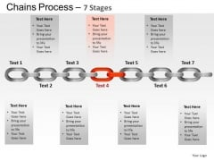 PowerPoint Presentation Strategy Chains Process Ppt Layouts