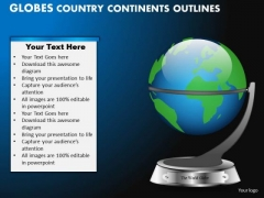 PowerPoint Presentation Strategy Globes Country Ppt Template