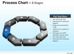 PowerPoint Presentation Strategy Process Chart Ppt Slides