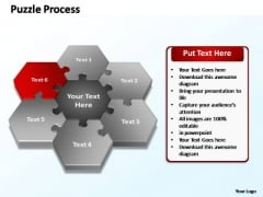 PowerPoint Presentation Strategy Puzzle Ppt Slides