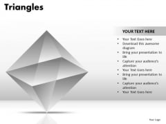 PowerPoint Presentation Strategy Triangles Ppt Slide Designs