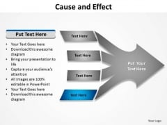 PowerPoint Presentation Success Cause And Effect Ppt Template