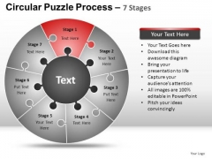 PowerPoint Presentation Success Circular Puzzle Ppt Process