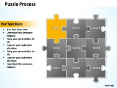 PowerPoint Presentation Success Puzzle Ppt Slides