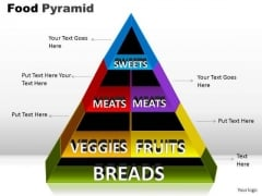 PowerPoint Presentation Teamwork Food Pyramid Ppt Slides