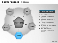 PowerPoint Presentation Teamwork Wheel And Spoke Process Ppt Template