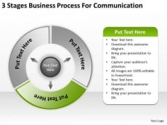 PowerPoint Presentations Process For Communication Business Plan Templates